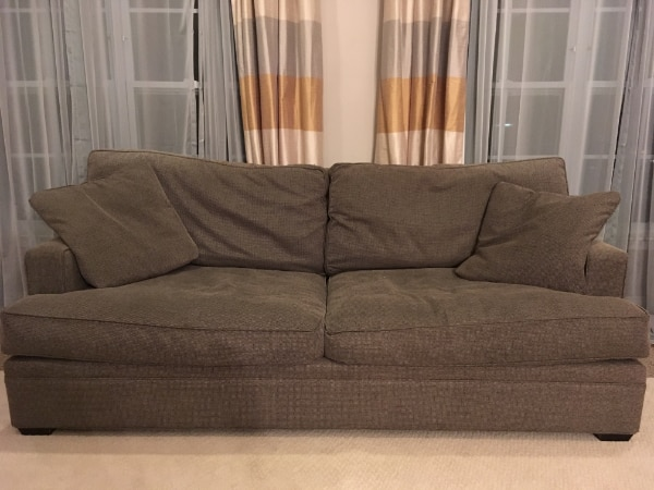 Crate & Barrel Sofa and Chair