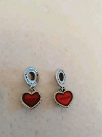 $60 Authentic Pandora Mother Daught Charm Set Toronto, M4W