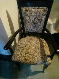 Solid wood newly upholstered chairs Mississauga, L4T 1Z6