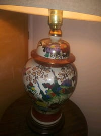 Hand painted table lamp North Potomac, 20878