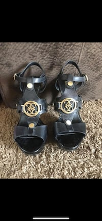 Guess Black and Gold Heels Greeley, 80634