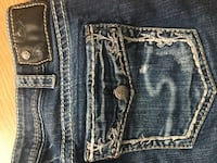 Silver Jeans, size 30 Vernon, V1T