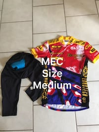 Different sets of MEC cycling wear different prices Vancouver, V5X