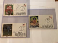 LOT OF 3 Baseball Autographs with certificates Front Royal, 22630