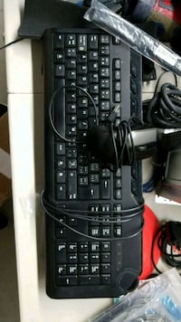 black corded computer keyboard and mouse Toronto, M1P 4S7