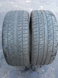 2 tires 255/50r19 like new $ 80 Leesburg, 20176