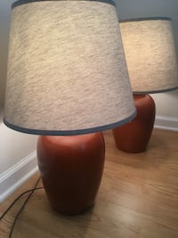 Beautifully made set of 2 lamps in new condition 229 mi