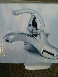 Polished chrome faucet in box Winder, 30680