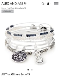 Alex and Ani All That Glitters Set of 5 Antioch, 94509