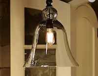 Lamp/Glas Pendant from Pottery Barn
