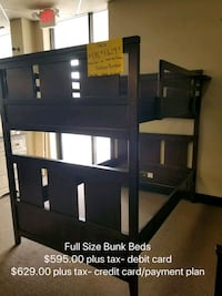 Full bunk bed-new Columbia