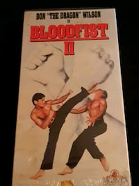 Very collectible Bloodfist II VHS