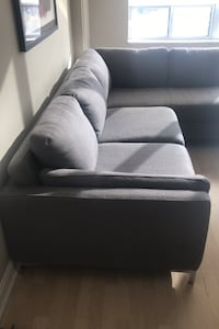 Left hand L couch  2 pice  1 year new  cast new $4700  Toronto, M4P 1T4