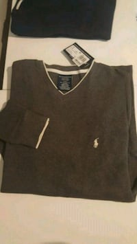 Polo Ralph Lauren Waffle Thermal Cotton Vneck Sz Med NEW! Toronto, M5N 2X4
