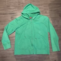 Ladies America zip up hoodie XL , L2H