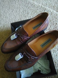 pair of brown leather loafers Bowie, 20721
