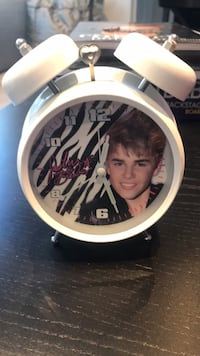 Justin Bieber Collectors Alarm Clock..