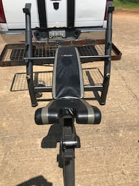 SA Gear Olympic weight bench