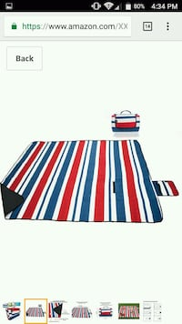 Outdoor 3 layer picnic blanket Pickering, L1V 1P5