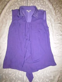 WOMEN'S SIZE 12 M&S PURPLE TOP London