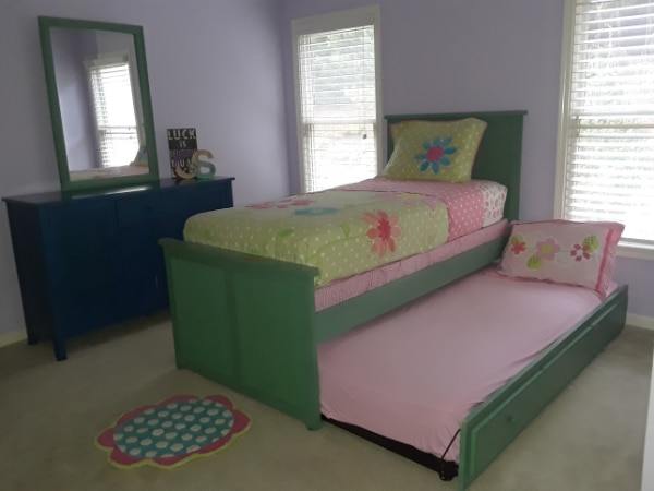 Used Beautiful Stanley 4 Pc Twin Trundle Bed Set For Sale In ALPHARETTA    Letgo