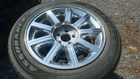 18 inch 5 lug wheels and tires Frederick, 21702