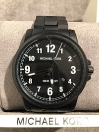 Michael Kors Men's Paxton Black Watch