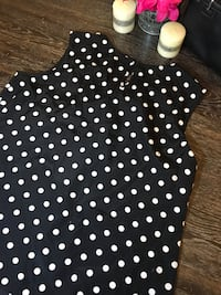 Polka dot blouse  Washington, 20011