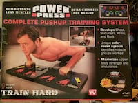 Maximum Fitness Gear Power Press Push Up - Complet Stafford, 22554