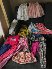 Girl's clothes size 4 Surrey, V3S 8C7