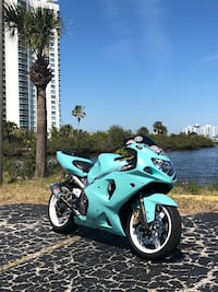 I have an 02 Gsxr 1000 with custom Tiffany blue paint color. The bike is a head turner it has gone to Daytona beach bike week the past three years and each time it receives so much love. New parts on the bike include brakes all around, new radiator and ho Menands, 12204