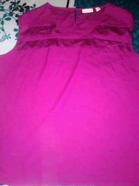 women's pink sleeveless dress 2315 mi