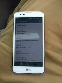 LG k7 White w/Grey Back Cover Chula Vista, 91915