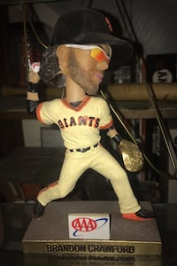 Collectible Giants Bobble-heads