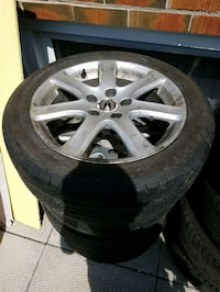 17 inch tsx rims and tires Toronto, M1P 4G9