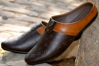 pair of brown leather boots Delhi