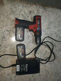 black and red corded power drill Edmonton, T6P 1C1