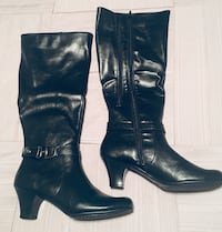 Women's Tall Black Boots Brand New