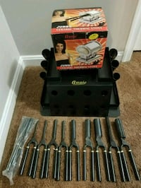 Pro. Thermal Curling set with stove  68 km