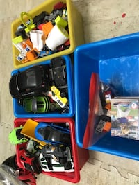 hot wheels cars, lego, baseball, wwe cards.. from .50cents to 5$ Newmarket, L3Y 2P9