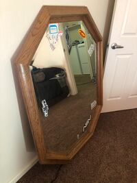 Brown wooden framed cheval mirror Bakersfield, 93314