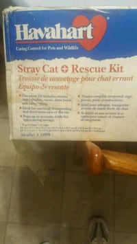 Havahart stray cat rescue kit Santa Ana, 92706
