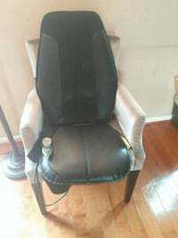 leather massager pad w/armchair Frederick, 21702
