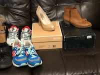 Women's size 6 and kids size 4 sneakers and shoes South Williamsport, 17702