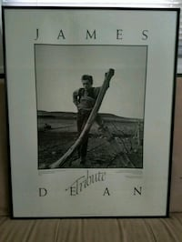 James Dean 1983 Tribute, professionally framed Essex, 06442