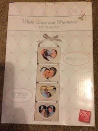 White lace and promises 4 PC frame set Sterling Heights, 48310