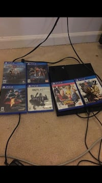Ps4 with all these games except jump force but black ops 4 instead also no naruto Silver Spring, 20906