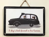 Dog lovers sign (5x7 inches) Surrey, V3X 1T9