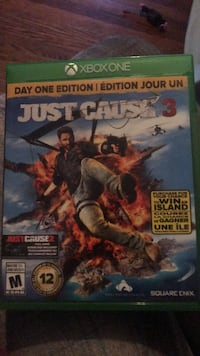 Just cause 3 xbox one game case Ottawa, K1K