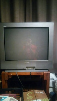 black and gray CRT TV Erie, 16509
